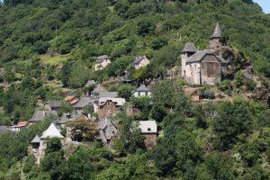 Uitzicht op La Vinzelle